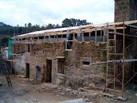 Proceso constructivo vivienda en Culleredo