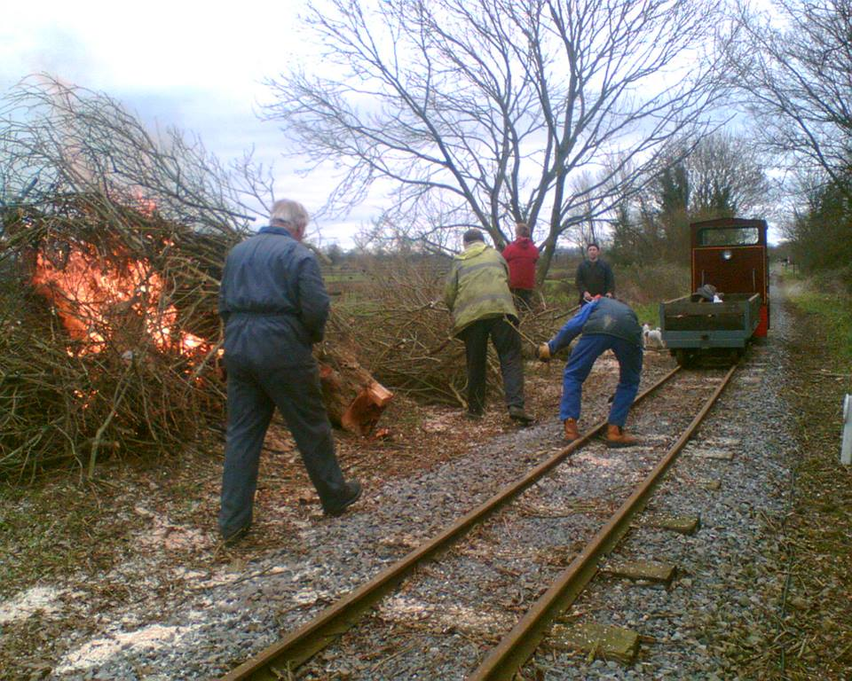 Rail Thing - Friends of the S&D: Behind the scenes - fun AND hard work!