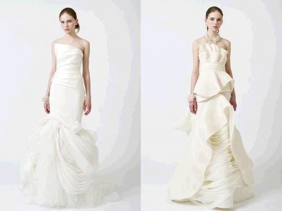 Vera Wang Brautkleider Mode 2011 - Beste Brautkleide