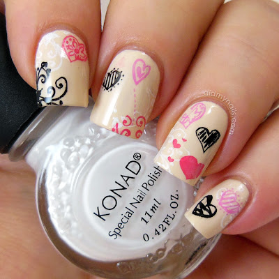 Born Pretty Store nail art stamping plate QA10