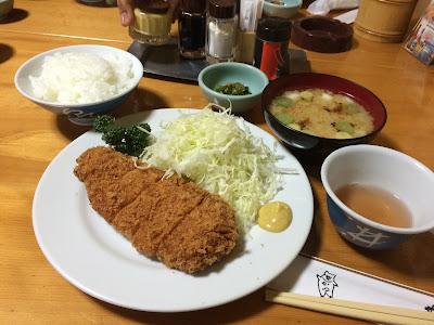 Tonkatsu in Tokyo