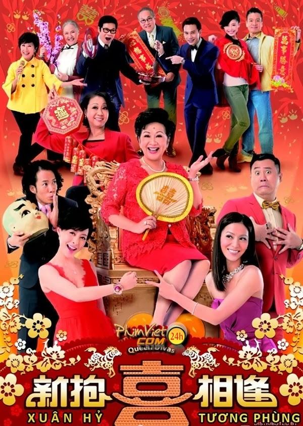 xem phim Xuân Hỷ Tương Phùng - Queen Divas 2014 full hd vietsub online poster