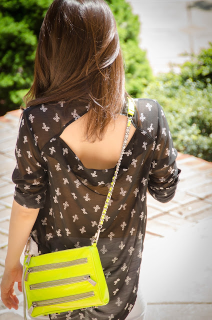 cute neon crossbody bags