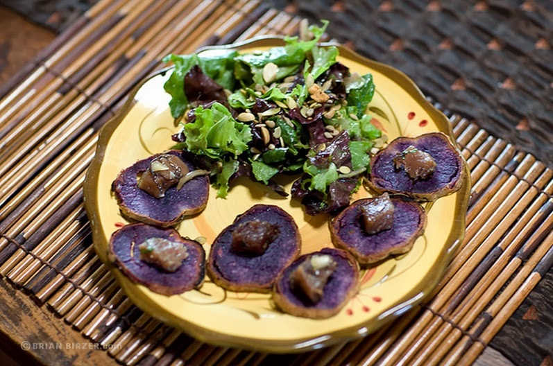 Hawaiian Purple Sweet Potatoes