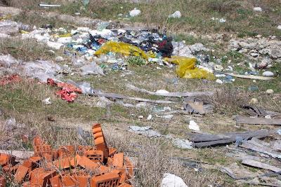 Баня боклуци сметище мръсотия отпадъци