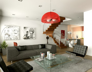 sala decorada estilo jovem
