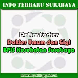 Daftar Faskes Dokter BPJS Kesehatan Surabaya