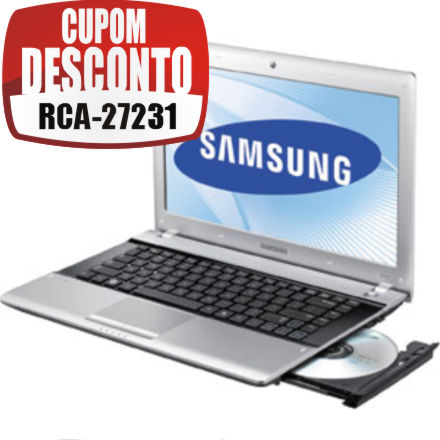 Cupom Efácil - Notebook Samsung RV415