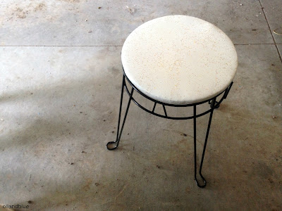 http://oilandblue.blogspot.com/2015/07/before-after-retro-stool-goes-mod.html