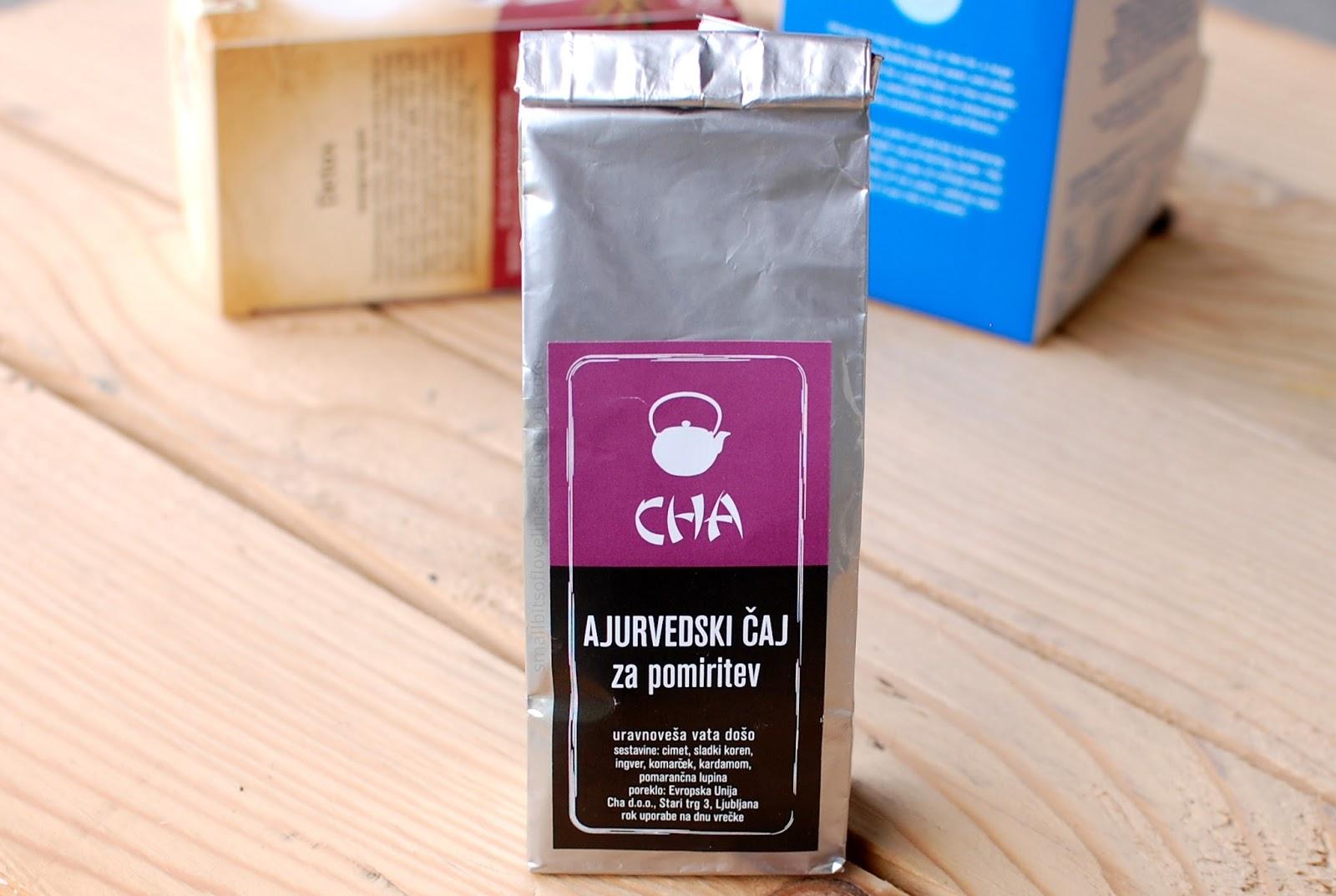 Cha Ajurvedski čaj za pomiritev