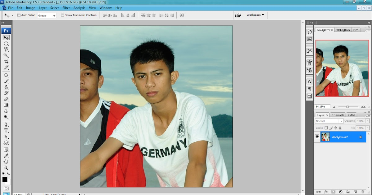 tutorial photoshop jadi kartun