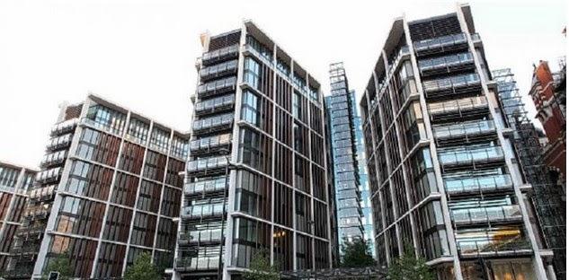 Apartemen Termahal di Inggris Tanpa Dinding!