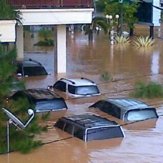 Foto Banjir Manado