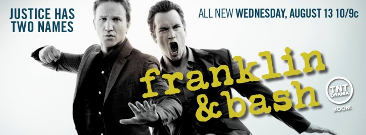 Franklin and Bash - Season 4 - Promotional Banner