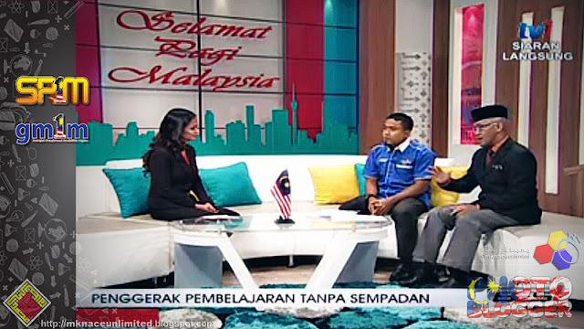 Guru Muda 1Malaysia Penggerak Pembelajaran Tanpa Sempadan @Selamat Pagi Malaysia RTM1