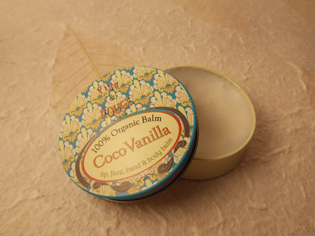 Figs & Rouge Coco Vanilla 100% Organic balm