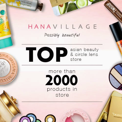 HanaVillage.com - Asian Cosmetic Beauty & Coloured Lens Store