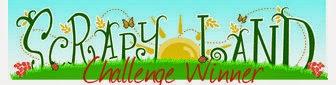 WINNER SCRAPYLAND JUILLET 2015 - Challenge # 21