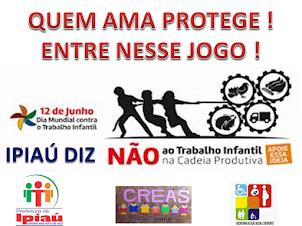 CAMPANHA ERRADICAÇÃO DO TRABALHO INFANTIL