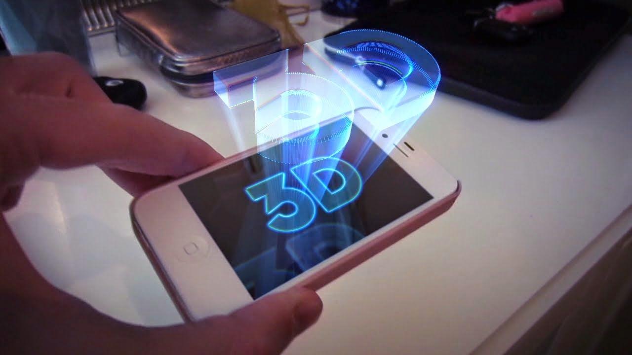 """الجيل القادم من أيفون سيكون بشاشة ثلاثية الأبعاد """"3D"""""""