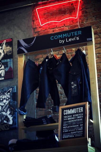 Levi's e o jeans para ciclistas com estilo