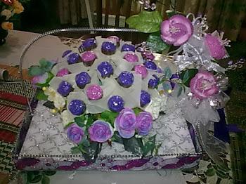 little roses gubahan