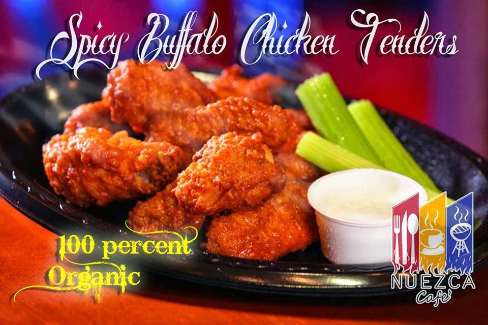 Nueza Cafe: Spicy Buffalo Chicken Tenders