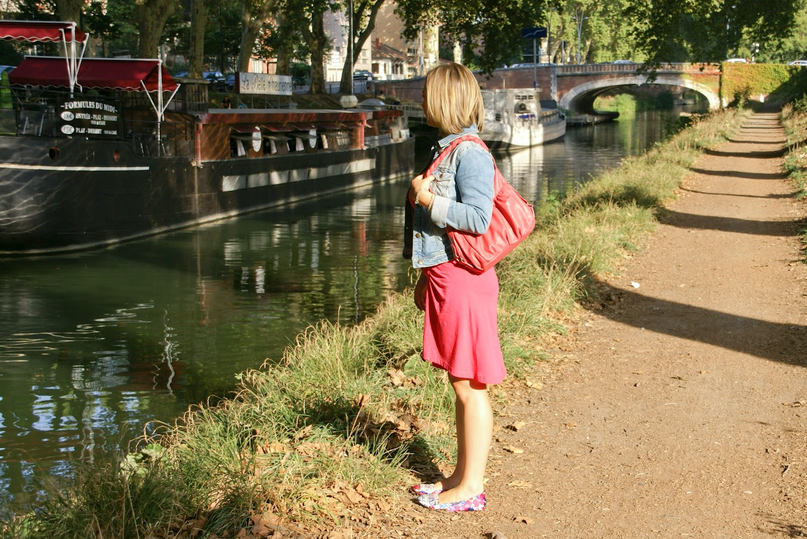 The audas'world: Ma petite robe rouge et moi
