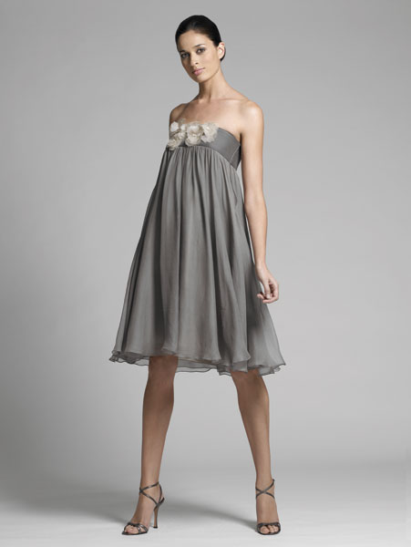 Great ideas for gray dresses for bridesmaids have your for Gray dresses for a wedding
