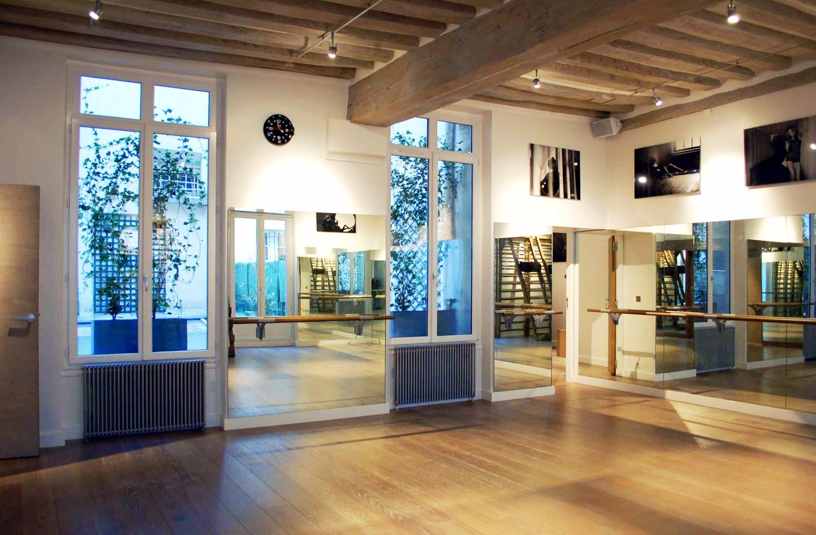 studio de yoga paris 6e richard tolouie architectes. Black Bedroom Furniture Sets. Home Design Ideas