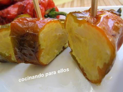 Cocinando para ellos pimientos italianos rellenos de - Cocinando para ellos ...