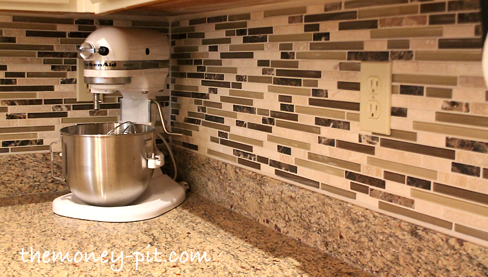 Grouting Kitchen Backsplash Brilliant Installing A Pencil Tile Backsplash And Cost Breakdown  The Kim . Design Inspiration