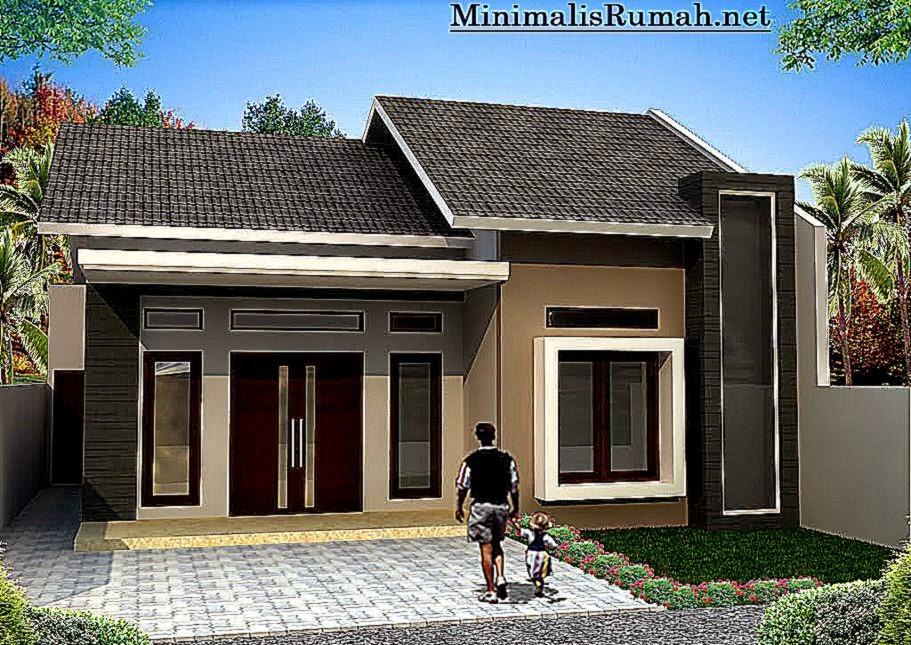 Bentuk Terbaru Rumah Minimalis   Rumah Cantik Minimalis Modern Dan