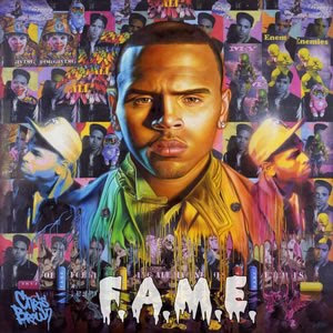 Chris Brown - F.A.M.E. album cover