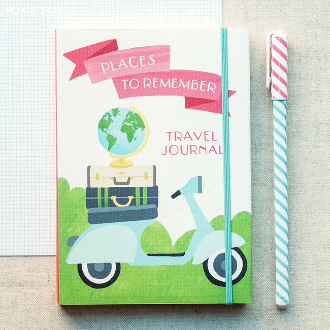 pocket travel journal