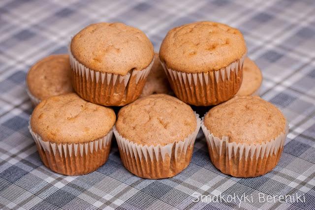 aromatyczne muffiny cynamonowe