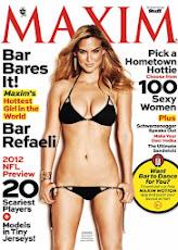 Bar Refaeli en Maxim 2012