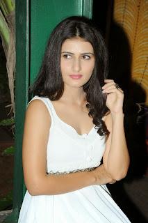 Sana Shetty New Actress in lovely Sleeveless white dress Stunning innocent beauty