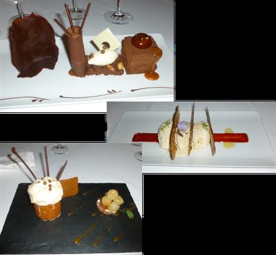 Photo desserts Relais et Château La Cabro d'Or aux Baux de Provence
