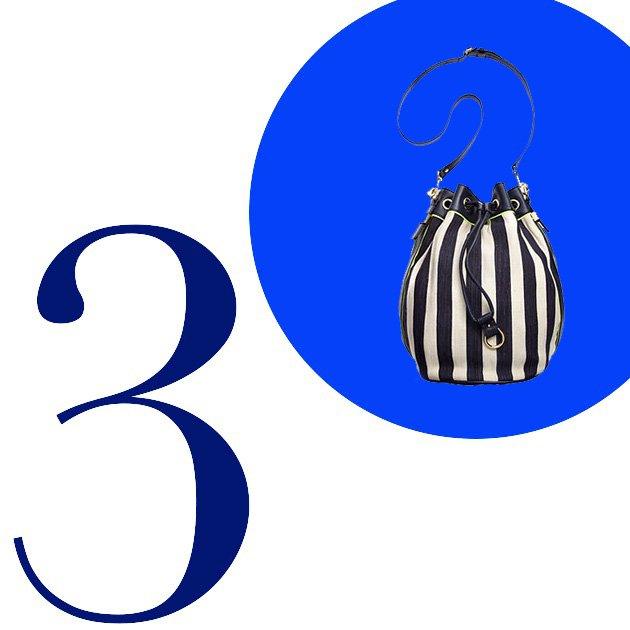 Top 5 Crossbody Bags For Summer 2013: Juicy Couture Canvas Bucket Crossbody Handbag