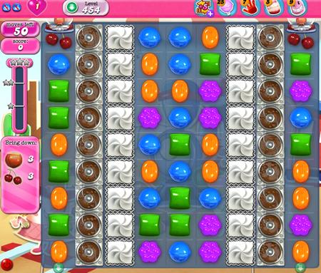 Candy Crush Saga 454