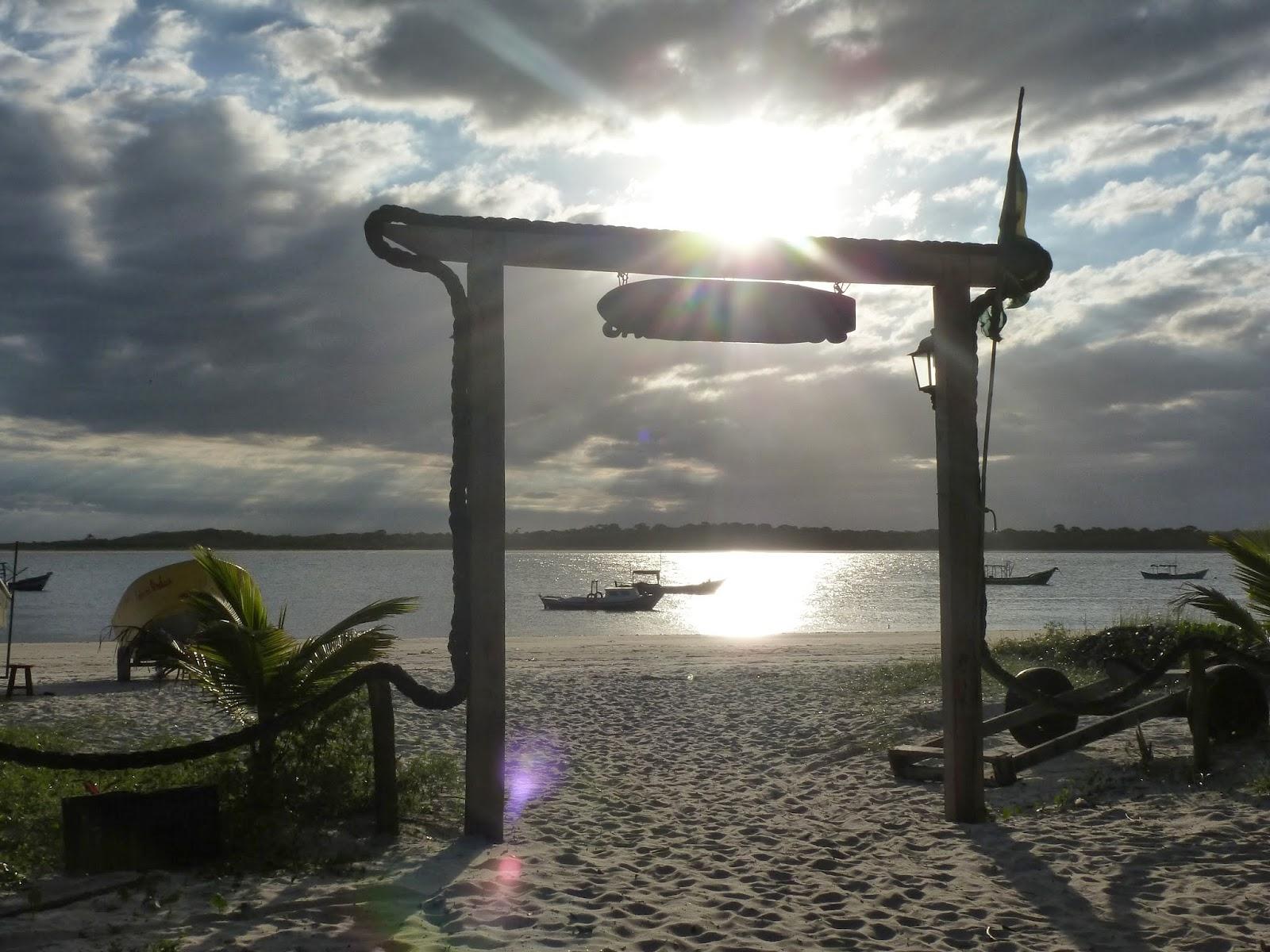 Plage de Superagüi au sud du Brésil