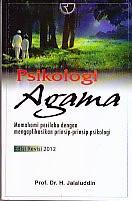 toko buku rahma: buku PSIKOLOGI AGAMA EDISI REVISI 2012, pengarang jalaluddin, penerbit rajawali pers