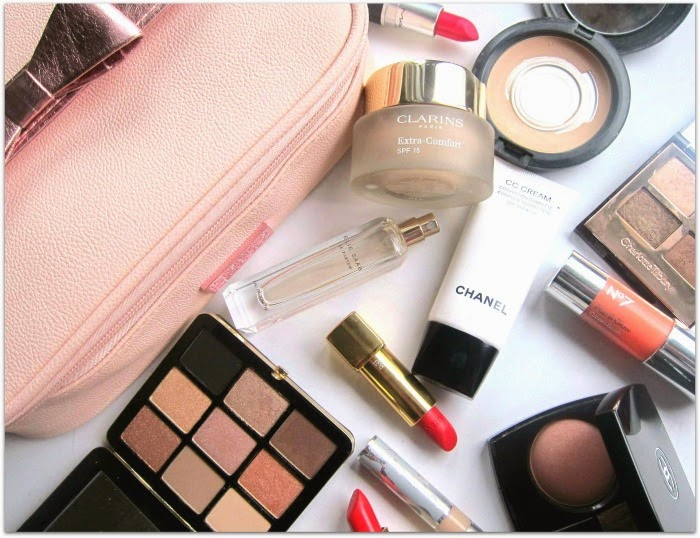 Holiday Beauty Bag Fluff and Fripperies