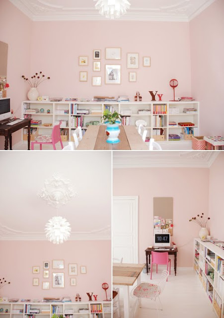 the perfect pink paint color