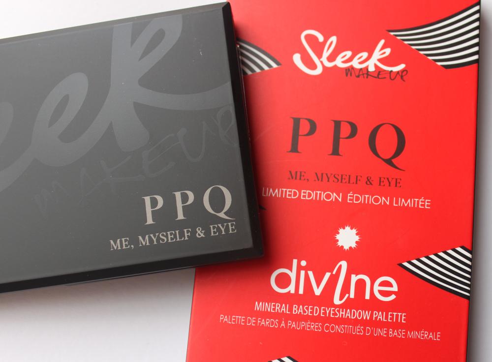 Sleek Makeup & PPQ Me, Myself and Eye