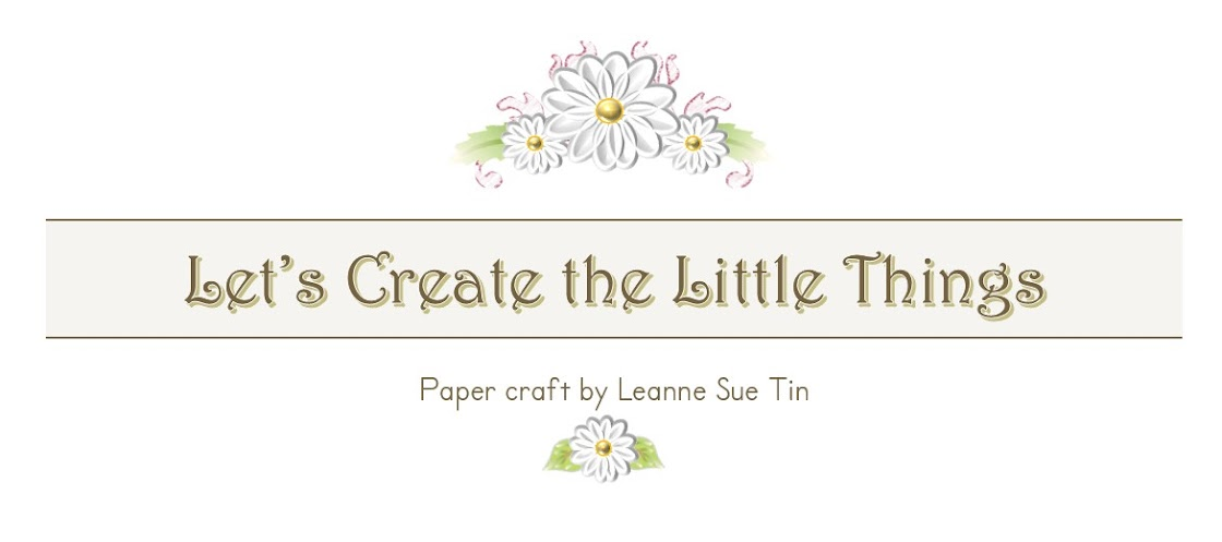 Let's Create the Little Things