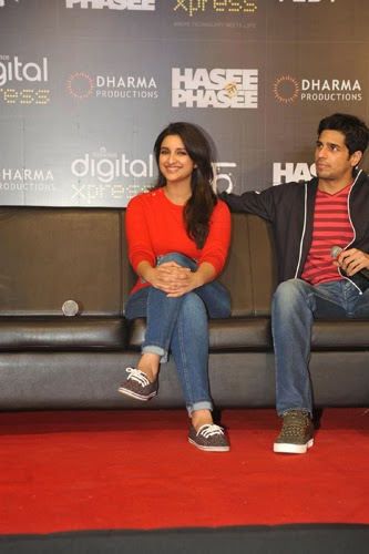 Hasee Toh Phasee Movie Mobile App Launch Event Photos