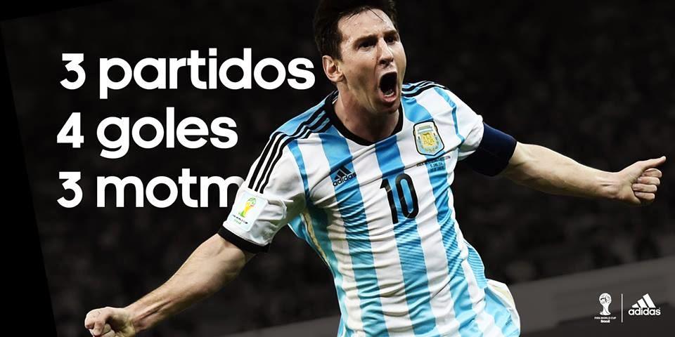 Messi lleva a Argentina a Octavos de Final