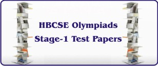 HBCSE Olympiad's Stage-1 Test Papers